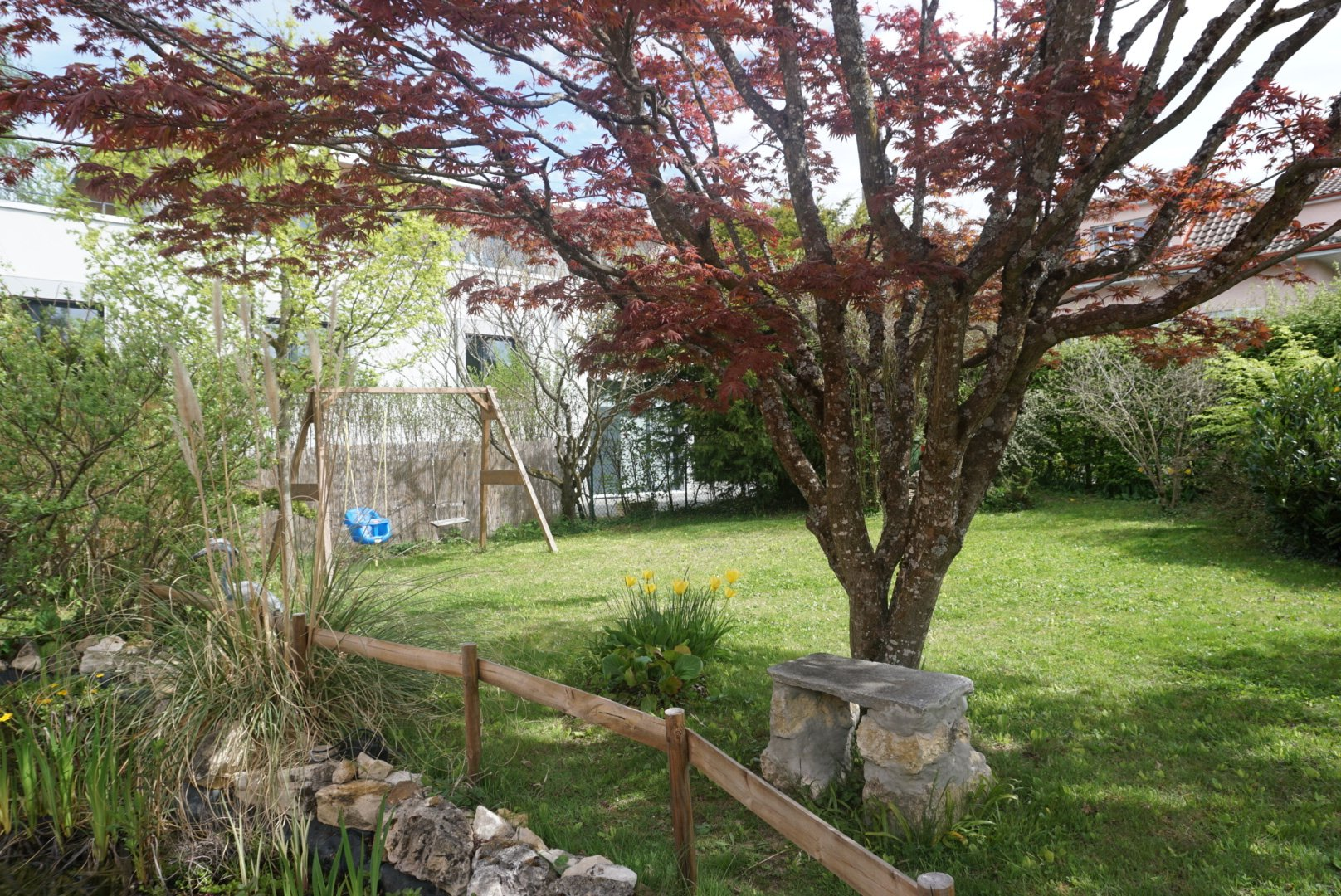 A louer villa individuelle avec son jardin
