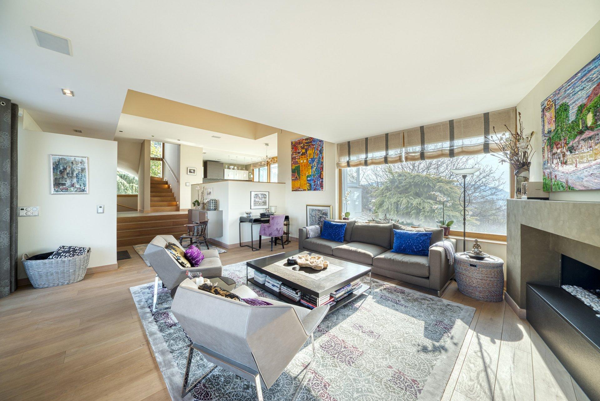 BELMONT - magnifique villa d'architecte avec vue panoramique