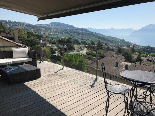 LUTRY - La Conversion -Villa-Appartement vue panoramique