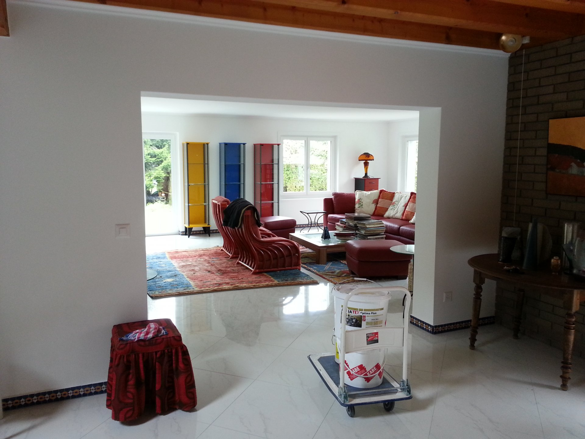 Vaste et privative villa
